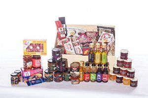 Jumbo Scottish Hamper – Huge Scottish Christmas Hamper idea. Great for him or her, young or old. Premium gourmet food products from Scotland