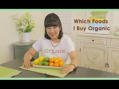 Which Foods I Buy Organic and Why!  https://youtu.be/ckPDJKTCUt0