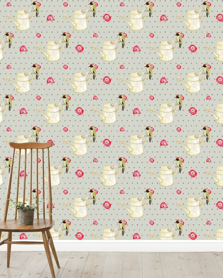 Dotty Woodpecker Wallpaper