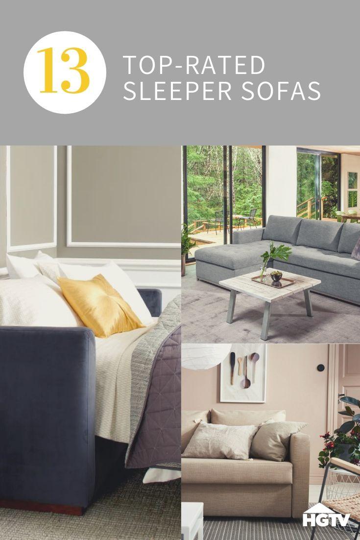 13 Stylish Sleeper Sofas For Every Budget Hgtv Living Room