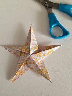 Cream Life: Tutorial stelle origami