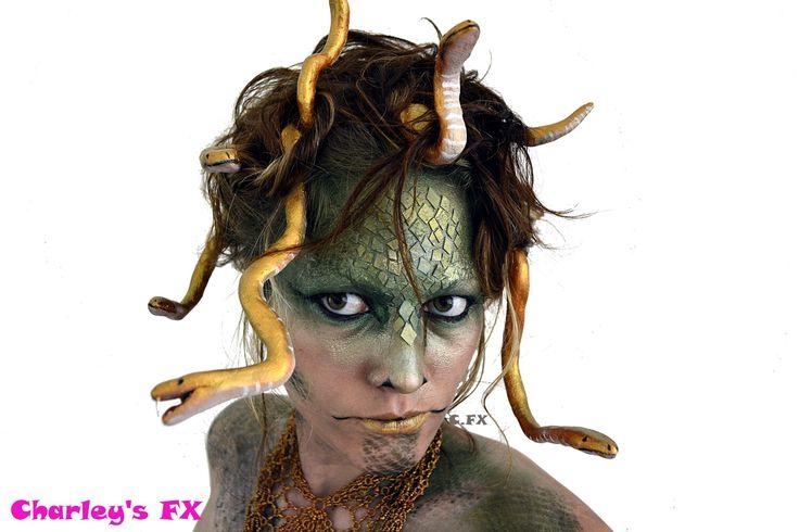 Medusa makeup