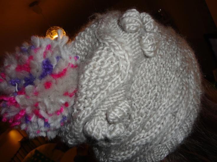 bonnet en laine!!!