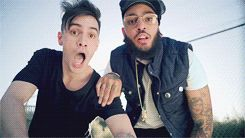 Brendon featured in Travie McCoy's Keep on Keeping On. ****PLEASE READ: PANIC! AT THE DISCO ARE LOSING IN MTV'S MMM, GO VOTE NOW!!!!!!! VOTE HERE: http://www.mtv.com/content/news/musical_march_madness/