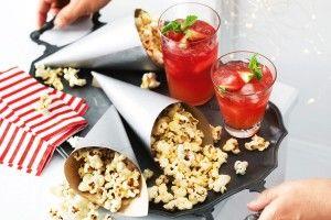 Chilli sugared popcorn