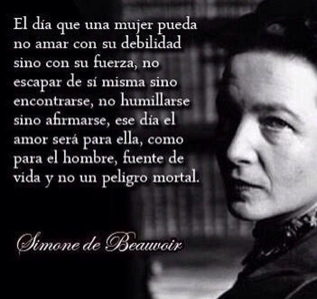 Filosofia..Simone de Beauvoir
