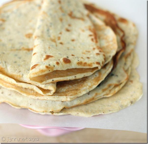 Gluten-free, Grain-free Flatbread
