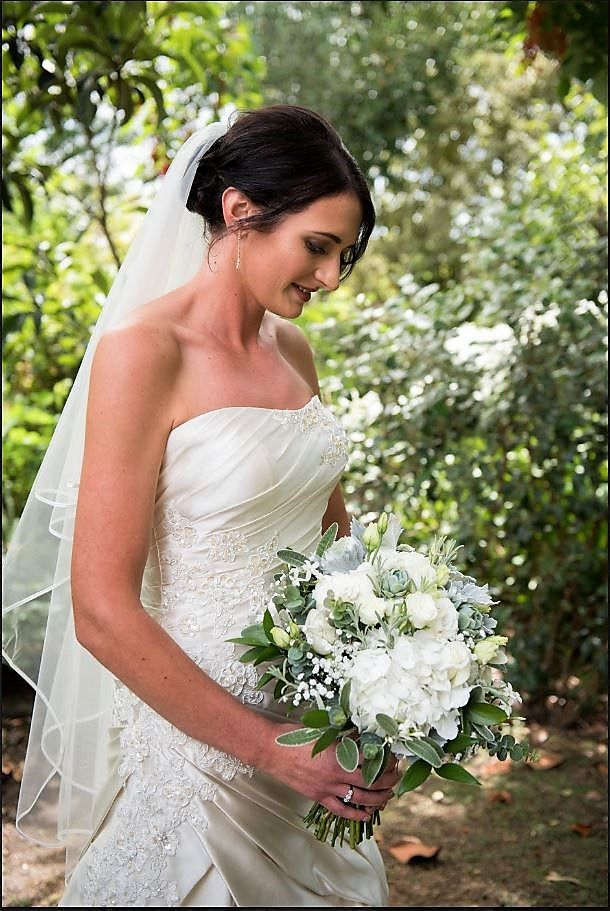 White Wedding bouquet Image by Shar Hays photography
