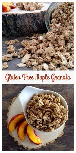 Gluten Free Maple Granola - Dinner Was Delish