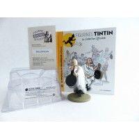 Figurine collection officielle Tintin n°46 Le professeur Philippulus prédicateur