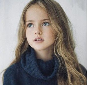 Kristina Pimenova, Model Cilik dengan Julukan Gadis Tercantik di Dunia
