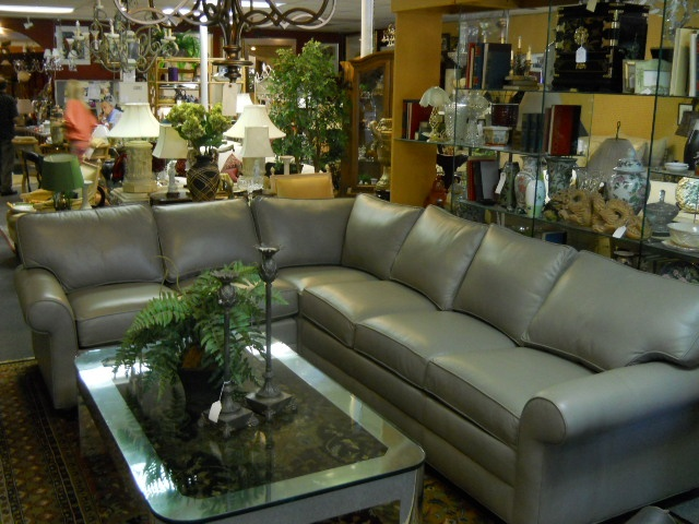 Brand New Ethan Allan Leather Sectional. Leather SectionalsHome FurnitureBrand  NewFloridaBoca Raton