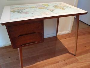 151 best if i had a dollar images on pinterest ikea malm retro vintage world map timber desk ebay gumiabroncs Choice Image