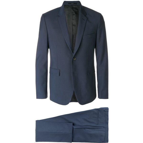 Paul Smith two piece formal suit (76.870 RUB) via Polyvore featuring men's fashion, men's clothing, men's suits, blue, mens leopard print suit, mens patterned suits, paul smith mens suits, aztec print mens clothing и men's 2 piece suits