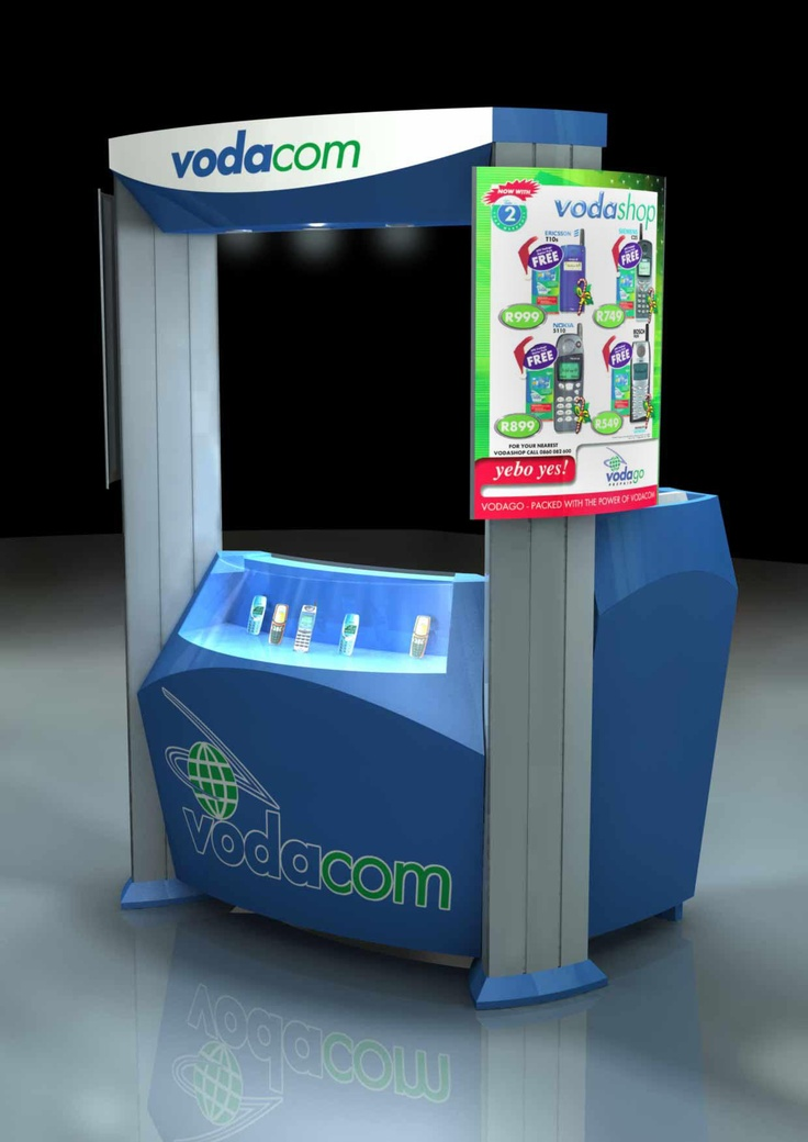 VODACOM - point of sale stand