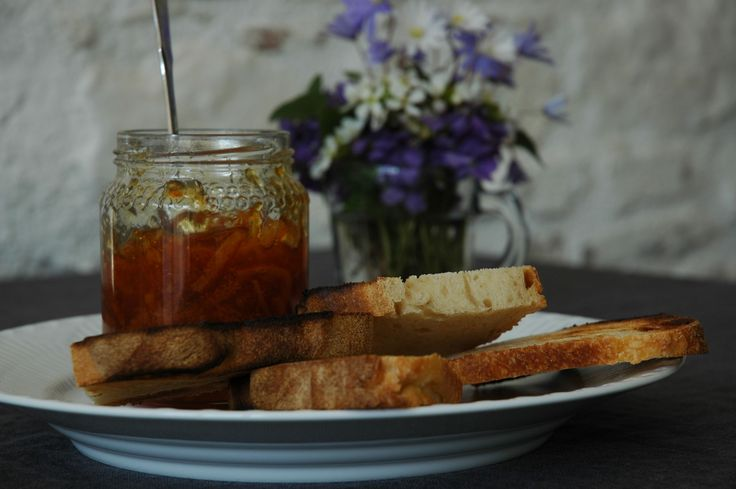 well - toast and marmalade.....bring on the tea...