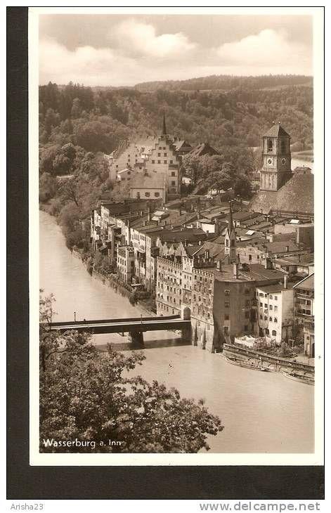 504. Germany, Wasserburg a. Inn - echte real photo - Fr. Dempf