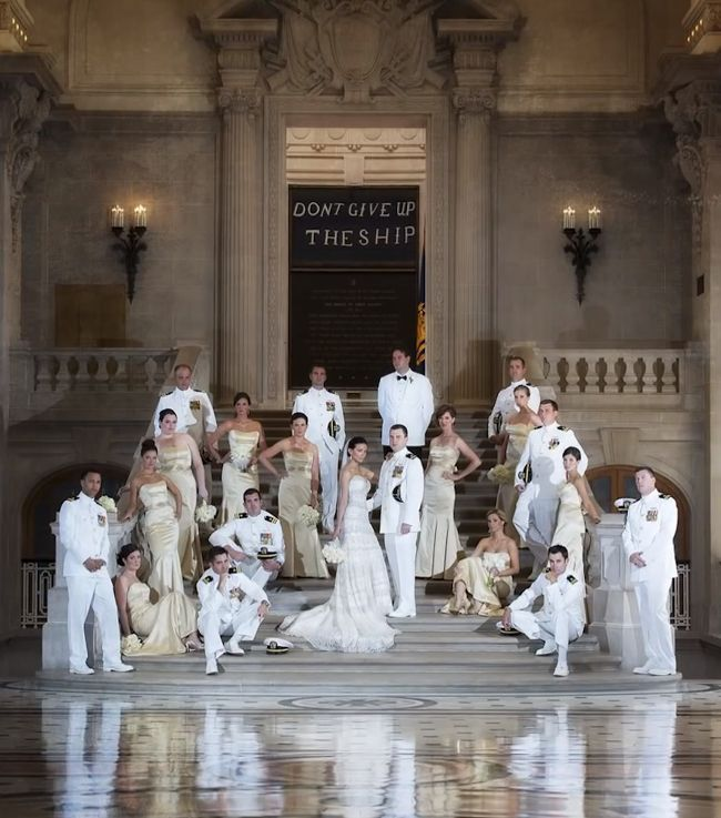 High Fashion Style Wedding Photography Posing With Moshe Zusman - Large groups can be challenging to pose!