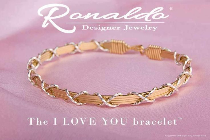 "Part of Ronaldo's ""Love"" series, the ""I Love You"" design is a true RDJ classic! <3 #Ronaldo #bracelets #BarnesJewelers #shopbarnes"