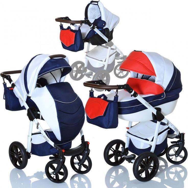 LCP Kids LUCATO Ecco 3in1 Kombi Kinderwagen Multi Wanne Buggy Babyschale 0-13 kgsparen25.info , sparen25.com