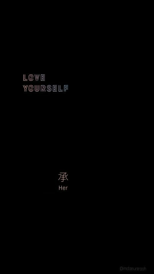 Love Yourself Wallpapers : 194 best BTS Love YourSelf images on Pinterest Bts ...