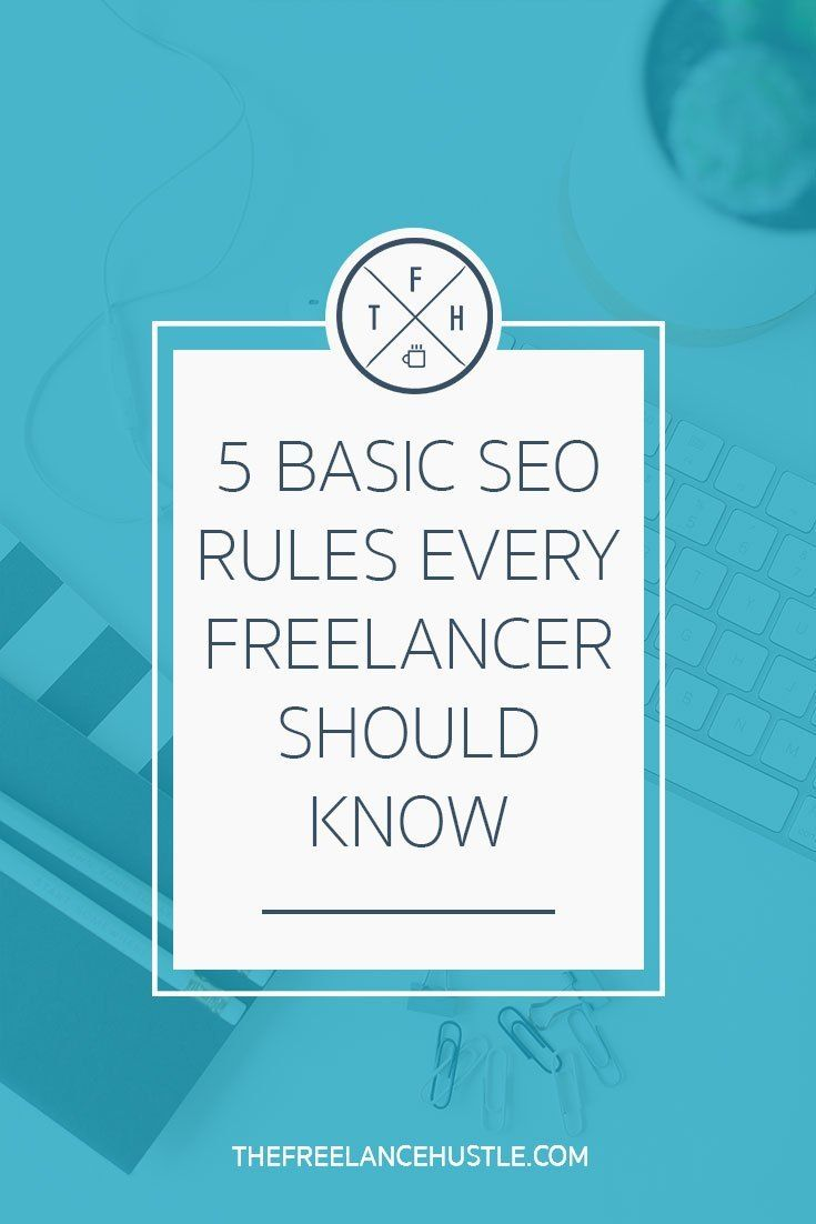 The 5 Basics Of Seo You Need To Implement As A Freelancer Help