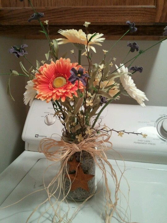 Center pieces I made for son's rehearsal dinner. I used ...