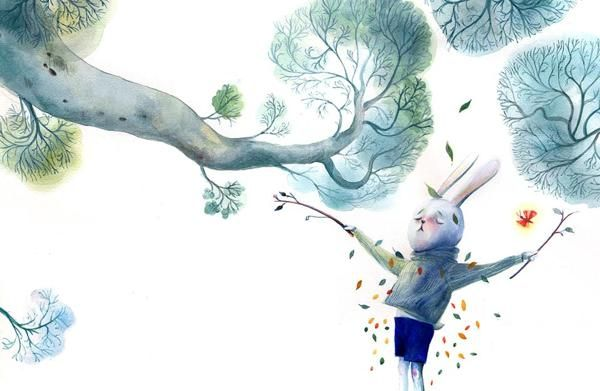 The Rabbit That Wanted to be a Tree by Maya Shleifer.
