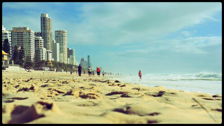 Surfers Paradise Beach in Surfers Paradise, QLD