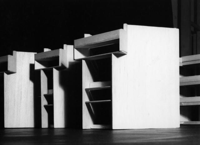 Bangladesh (formerly East Pakistan) Agricultural University, Mymensingh, Bangladesh. Faculty building. Model | Paul Rudolph & His Architecture