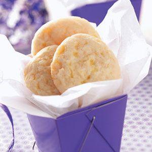 Lemon Drop Cookies~T~ Love these little cookies with crushed Lemon Drops and Lemon zest.