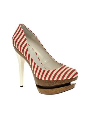 : Platform, Fashion, Shoes Spots And Stripes, Style, Clothes, High Shoes, Asos Poison, Shoes Heels