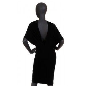 Cruciani - czarna sukienka - Fashioncode.pl