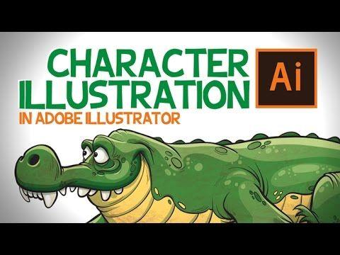 Character in Adobe Illustrator - #2 - YouTube                                                                                                                                                                                 More