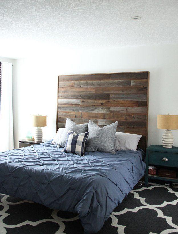 The 25 best Diy wooden headboard ideas on Pinterest
