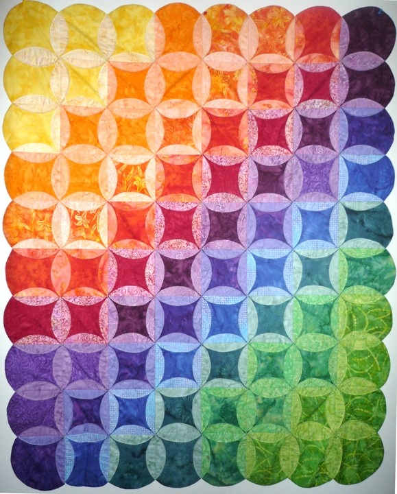 367 Best Images About Quilts Cathedral Windows On