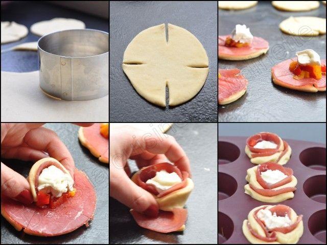 Roses brioch es sal es pour mon valentin en cuisine for Cuisine zelda