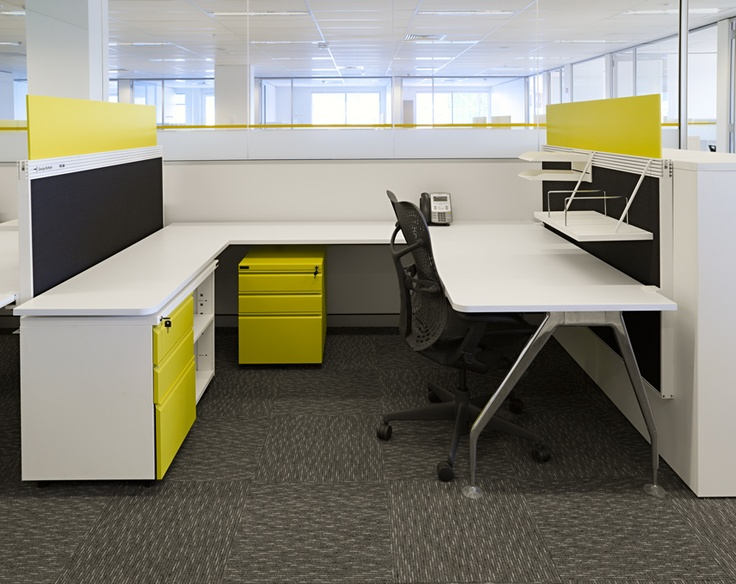 MKDC | ABN Head Office with Herman Miller Mirra chair
