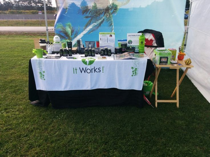 At the stop and shop there will be Itworks!! :)
