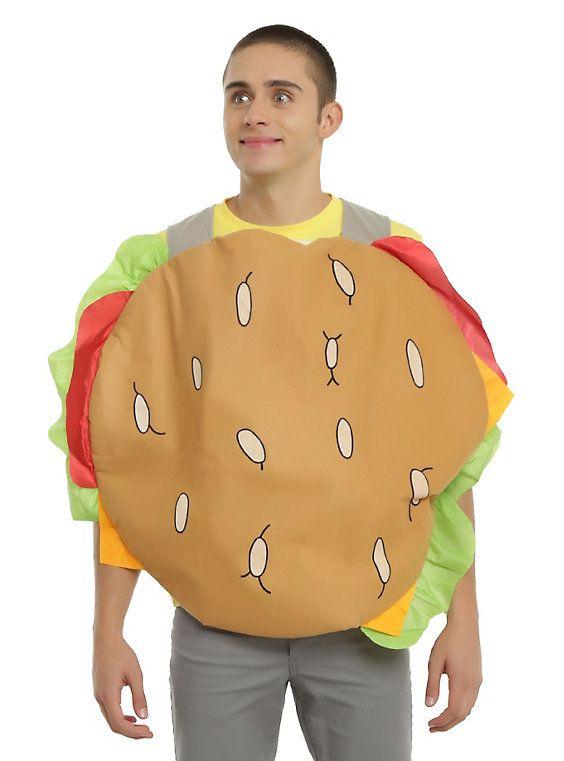 Bob's Burgers Gene Burger Suit Costume,
