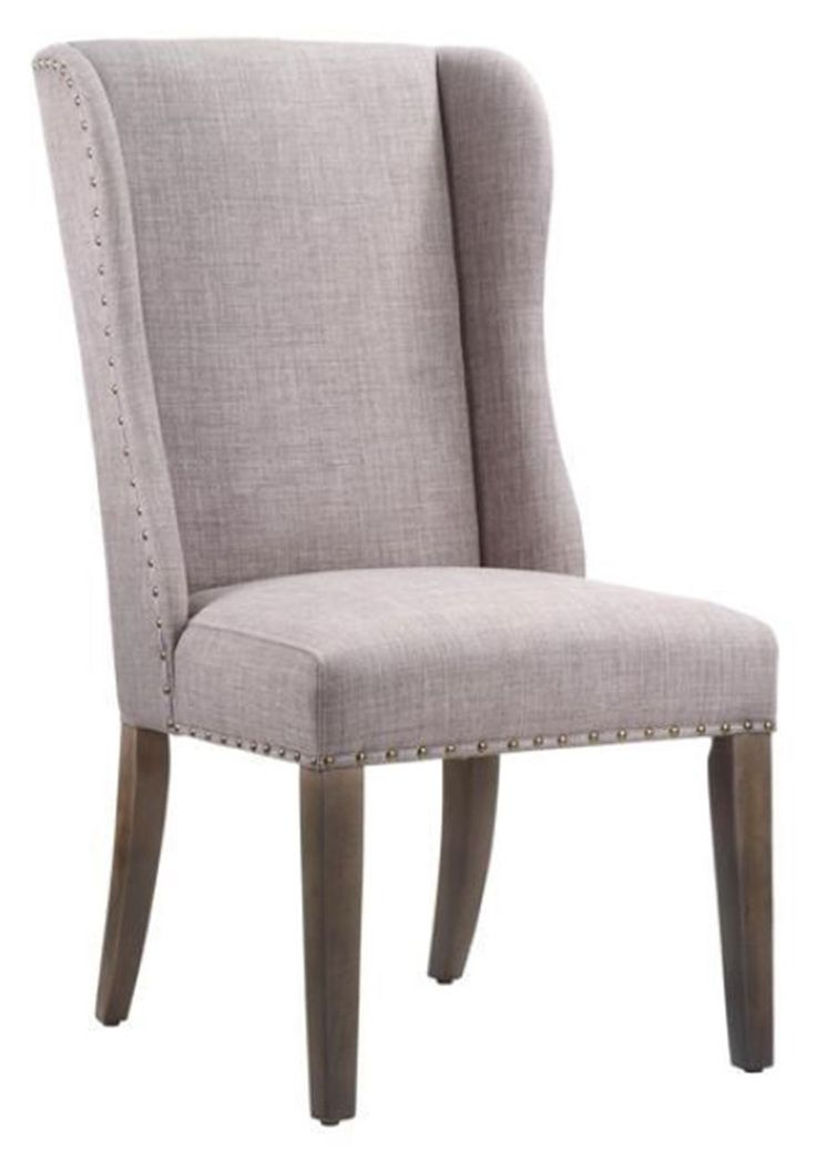 Shop the Alex Upholstered Dolphin Chair at Woodstock Furniture & Mattress Outlet. The nailhead trim dresses this chair up. Special financing available.