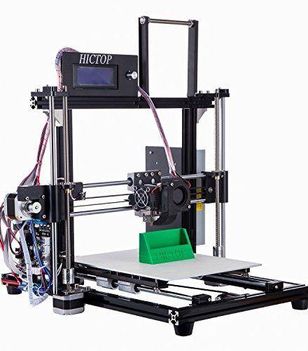 HICTOP FILAMENT MONITOR DESKTOP 3D PRINTER REPRAP PRUSA I3 FULL ALUMINUM FRAME MK8 DIY KIT CNC SELF-ASSEMBLY TRIDIMENSIONAL PRINTING SIZE 10.6″ X 8.3″ X 7.7″