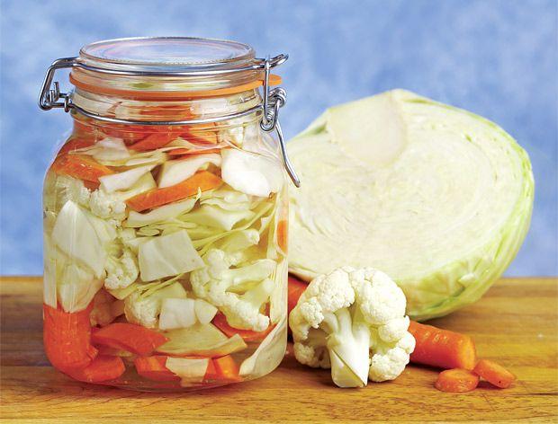 variace zeleniny