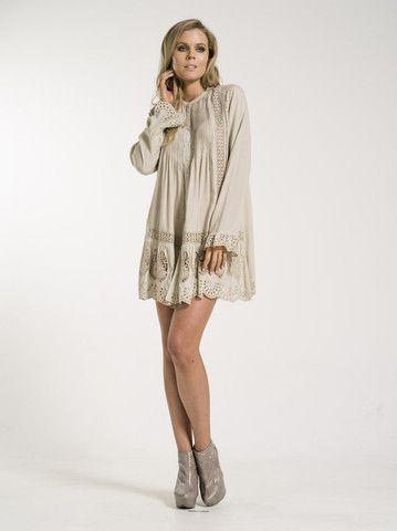 Add tights for winter - Sofia Dress/Tunic by Kaja Clothing
