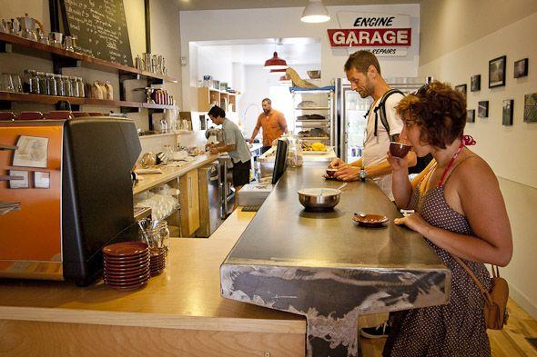 Locomotive Cafe; 3070 Dundas Street West, Toronto.