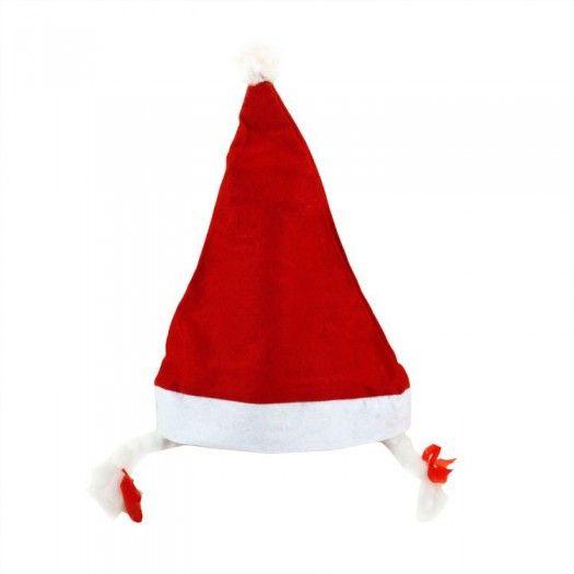 Saç Örgülü Noel Baba Şapkası