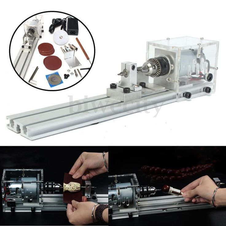 Mini Lathe Beads Machine Polisher Table Saw Mini DIY Wood Woodworking Lathe Tool in Business, Office & Industrial, Manufacturing & Woodworking, Woodworking | eBay