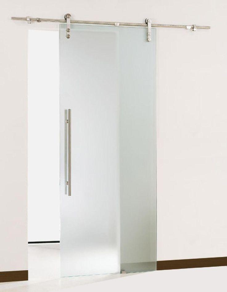 Free Shipping Gsd01 Modern Sliding Glass Barn Door