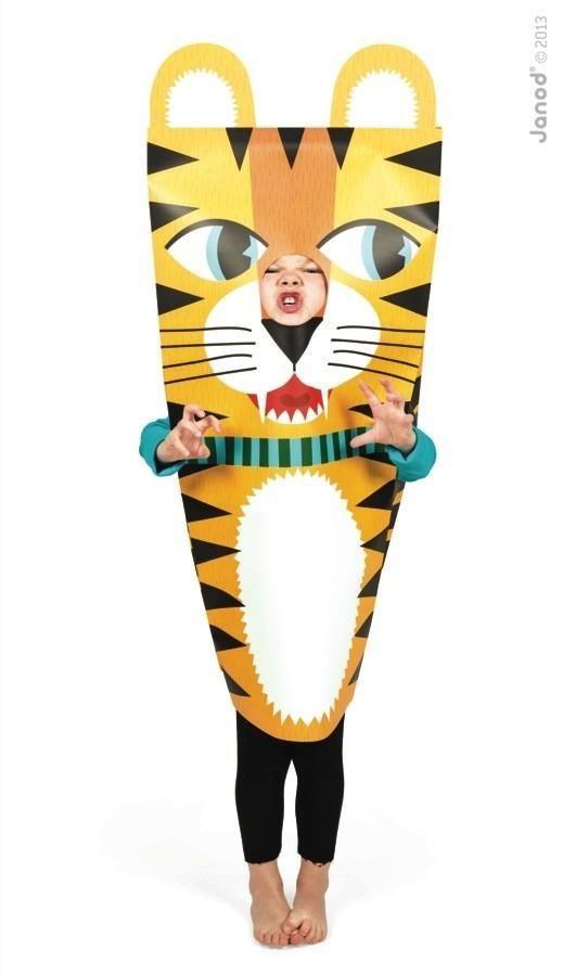 """Маскарадный костюм """"Тигр"""", Janod. Janod. Все для дня рождения. Купить в магазине Toyzez.ru."""