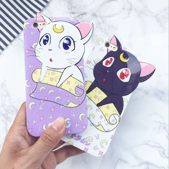 """Kawaii cats iphone case  Use the code """"cherry blossom"""" at www.Sanrense.com for a 10% discount!"""